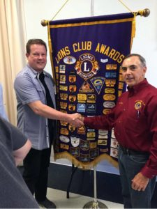New Lion Mark Salesses Honored
